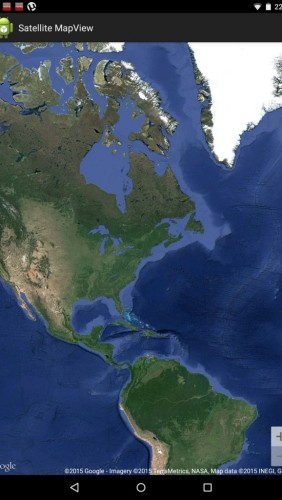 MapsSample_SatelliteView